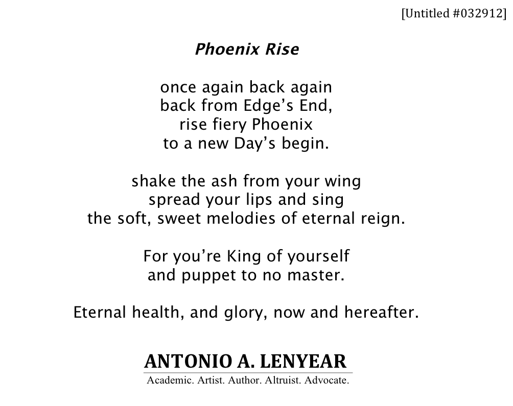 English creative writing poems